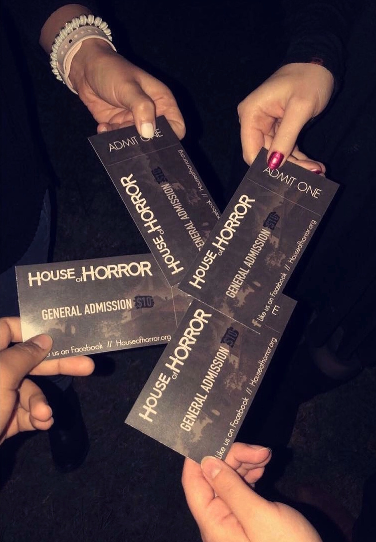 House of Horror Haunted House - fall bucket list